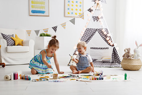 Less Expensive Kids Play Room