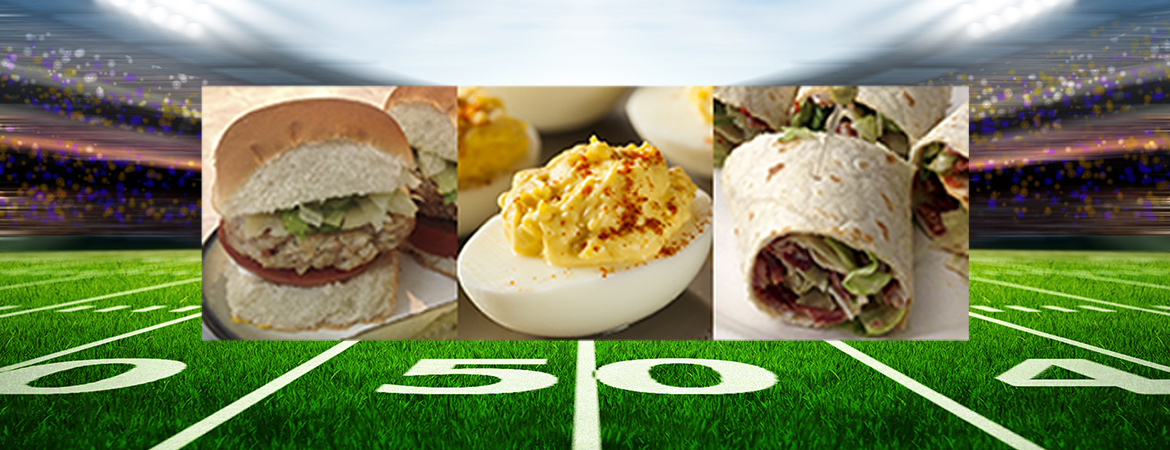 Kick Off Your Favorite Game Day the Light and Healthy Way!