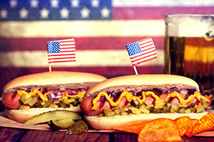 All-American Hotdog is perfect for a summer americana