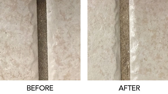 cleaning grout method 4